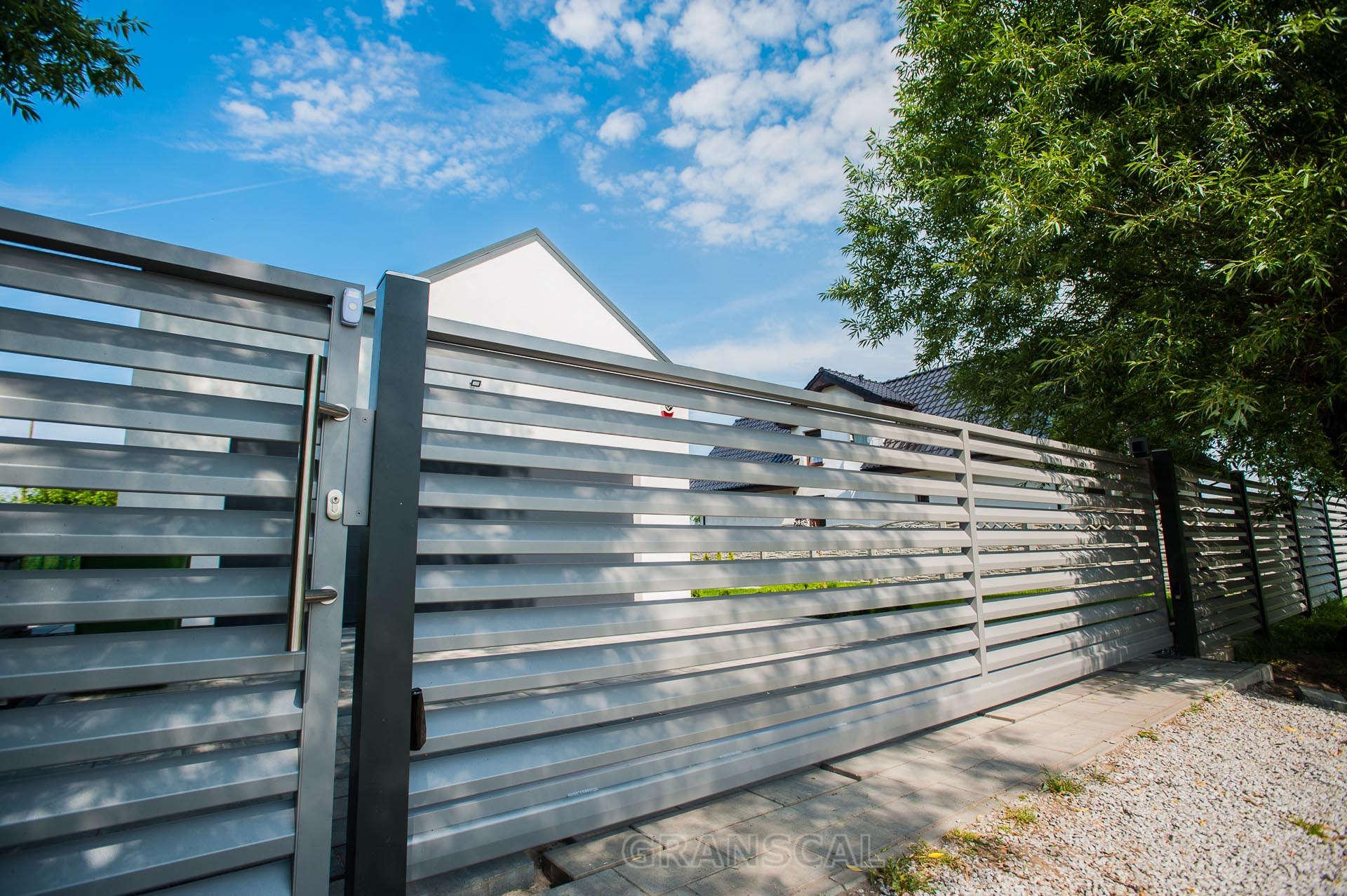 Ogrodzenie aluminiowe